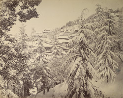 The Church, Simla [in] winter.